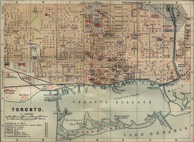 The 19th-century version of Google Maps. We called them 'maps.'
