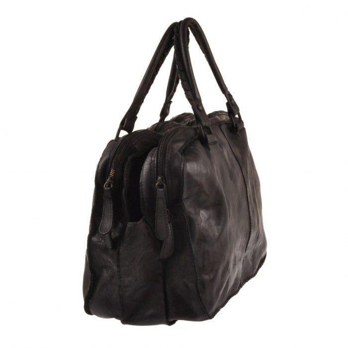 Pellevera men leather bag messenger