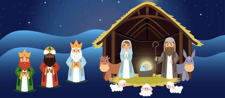 Die Weihnachtsgeschichte für Kinder erzählt