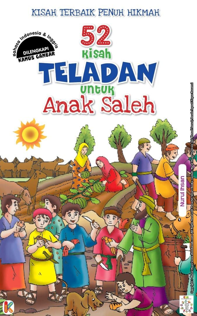 Cover Baca Online Buku 52 Kisah Teladan untuk Anak Soleh