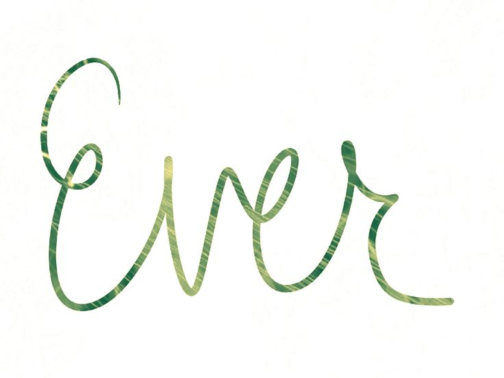 Baby girl's nickname Ever from Everly. Repinned for Elle. Hand-drawn by Meg at pinterest.com/meggiemaye