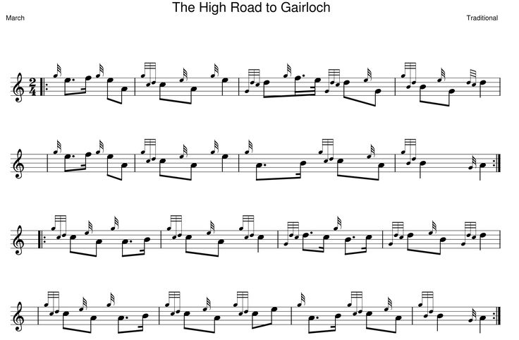 The High Road to Gairloch | Pipes in 2019 | Bagpipe music, Music