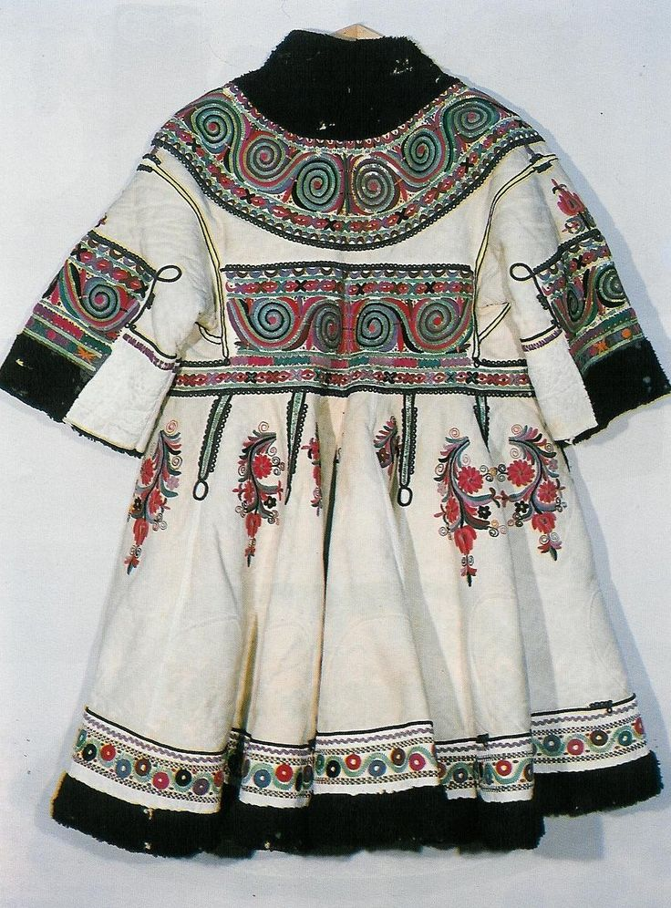 Fur coat from Pleven, 19th century - traditional #Bulgarian #costume