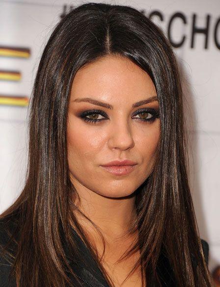 Mila Kunis Eye Makeup tutorial