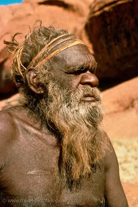 Aboriginal man, Alice Springs