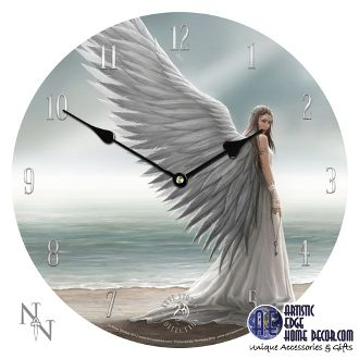 Spirit Guide Wall Clock  Designed by Anne Stokes  Spirit Guide Wall Clock Designed by Anne Stokes Diamater 13 1/4