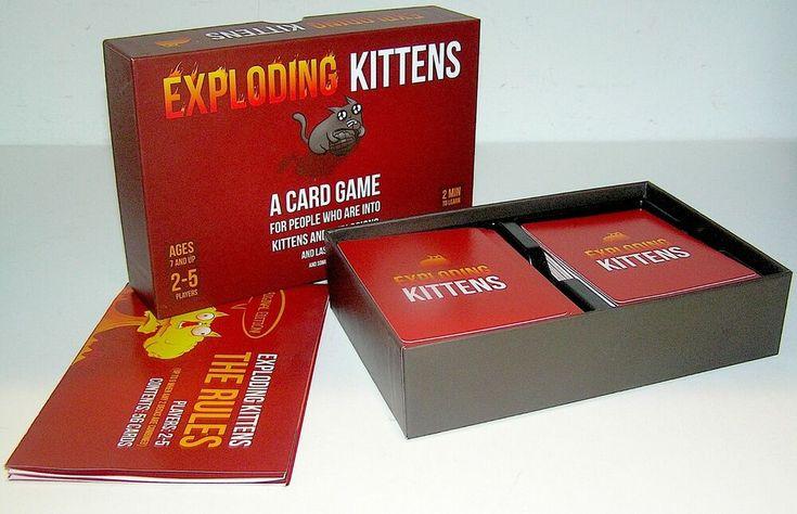 Card game exploding kittens ages 25 explodingkittens