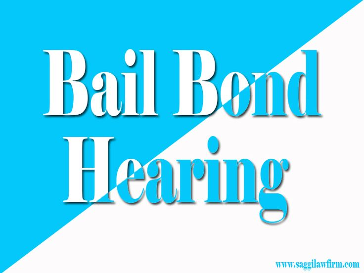 Check this link right here http://www.bing.com/local/details.aspx?lid=YN1226x17559876679368893991 for more information on Bail Bond Hearing. You should be asking yourself How Long Does It Take To Get A Bail Hearing. Bail can be examined regularly as the dynamics in the event modification. Each time bail is evaluated, the judge will certainly undergo the same factors to consider as before, perhaps with other verdicts.