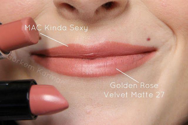 golden rose velvet matte 27 - Szukaj w Google