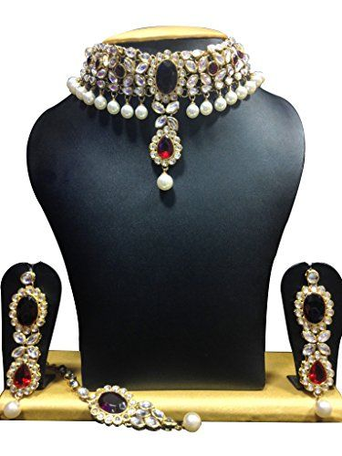 Red Stone Indian Bollywood Designer Gold Plated White Pea... https://www.amazon.com/dp/B06X6J6XSX/ref=cm_sw_r_pi_dp_x_Bl.PybAER6Q0Z