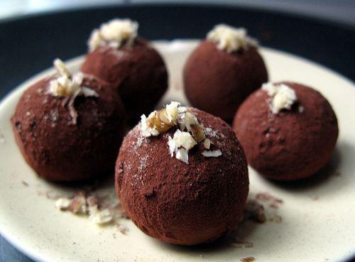 palline di cioccolato (microonde)