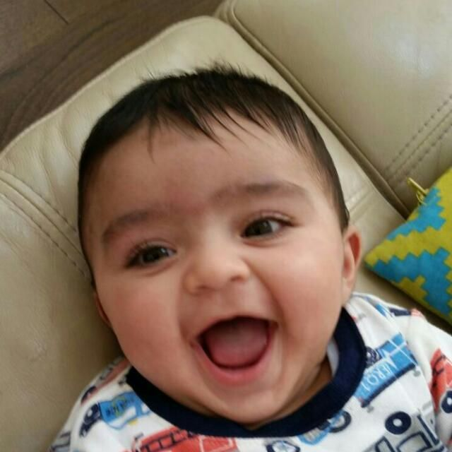 A Child's Laugh Could Simply Be One Of The Most Beautiful Sounds in The World