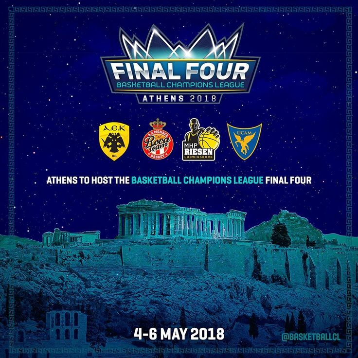 Final Four 4 of basketball Champions league