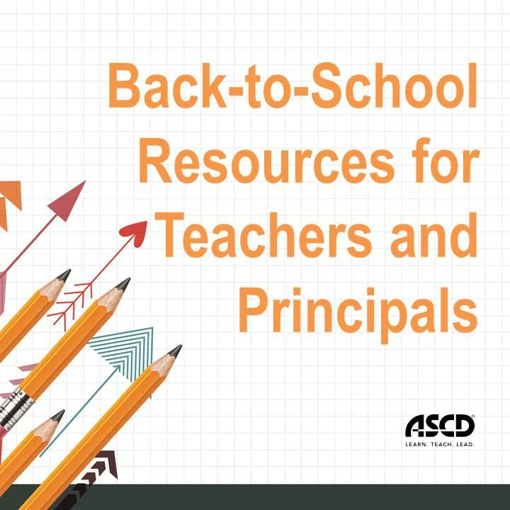 It's time to head back to school! Start off on the right foot with these great resources.