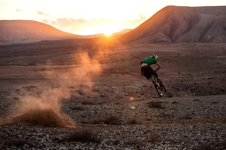 Photo of Harry Steele in Fuerteventura, Spain.