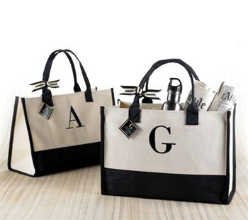 Custom Tote Bag, $14.99 from Classy Bride
