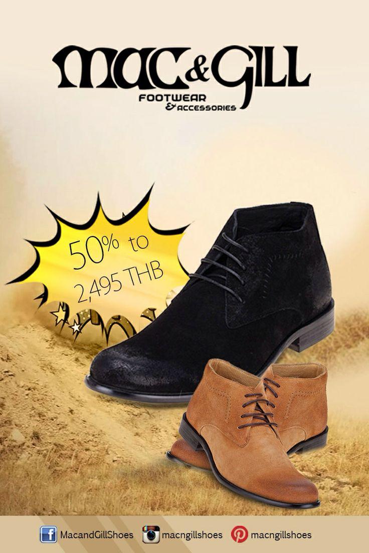 Black & Brown all times fav boots. #mac&gillshoes