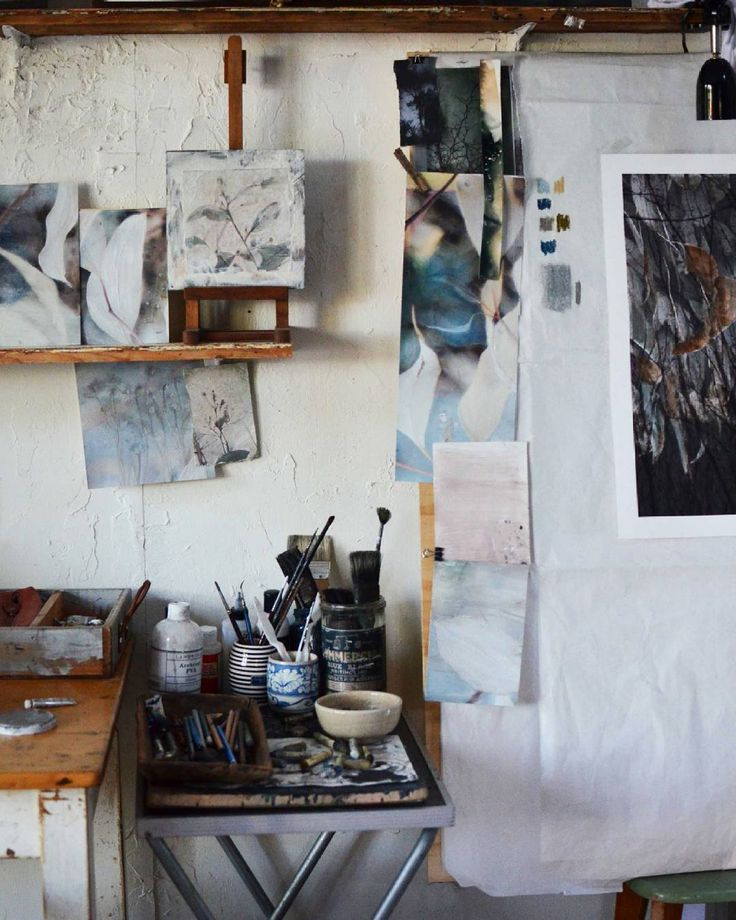 Back to the drawing board..studio day :) #studiowall