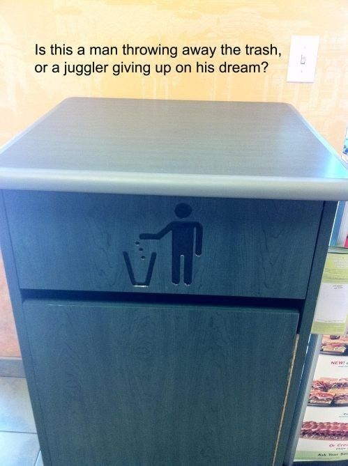 This symbol that will make you sad from now on. | 31 Photos That You'll Never Be Able To Unsee