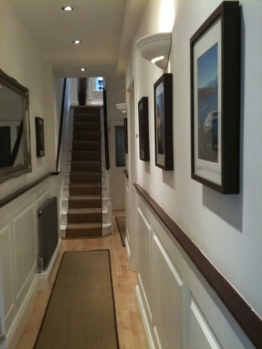 21 best georgian wall panelling for halls stairs for Georgian staircase design