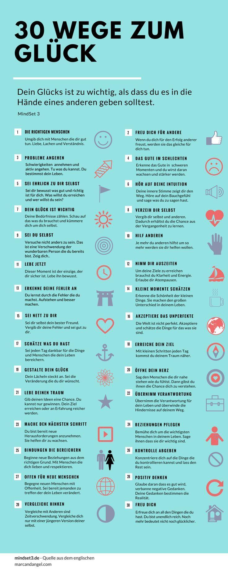 30 Wege zum Glück