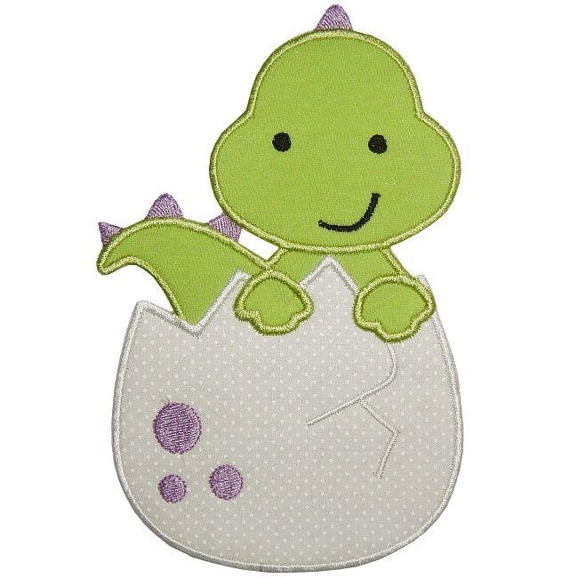 Dinosaur Egg Applique 3237