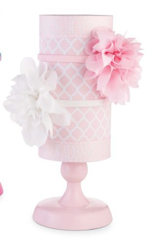 Kris.... When she gets into head bands I'll do this one too!!     pink headband holder...must have!!
