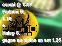 SAFE DU JOUR d'autre prono sur le vip http://ift.tt/2ers8wu  TICKET @ 1.70 en hors arjel @ 1.47en arjel  Tennis United Kingdom ATP Wimbledon 1 2 Tomorr. 12:30 Federer R.  1.18  (winamax)  Tennis United Kingdom WTA Wimbledon 1 2 Today 16:30 Halep S. gagne au moins un set 1.25 (wnamax)