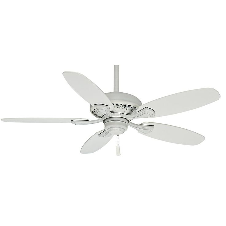 44 White Downrod Close Mount Indoor Outdoor Tropical: 15 Best Traditional Ceiling Fans Images On Pinterest