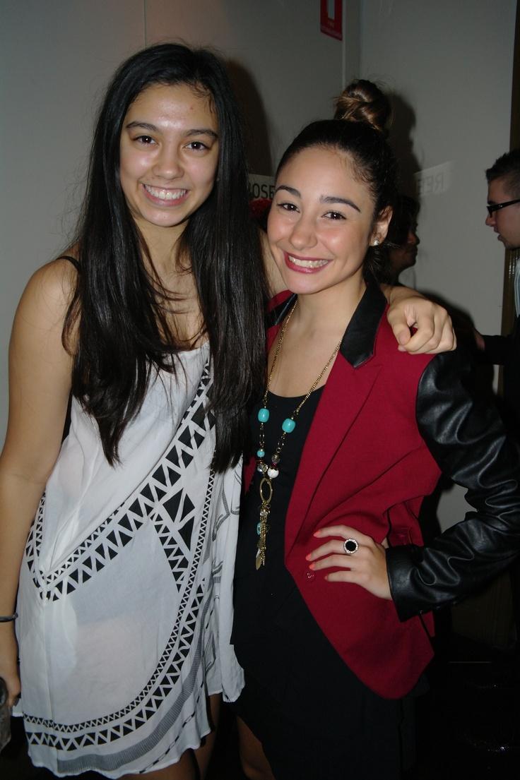 Talia with Rosie Romeo