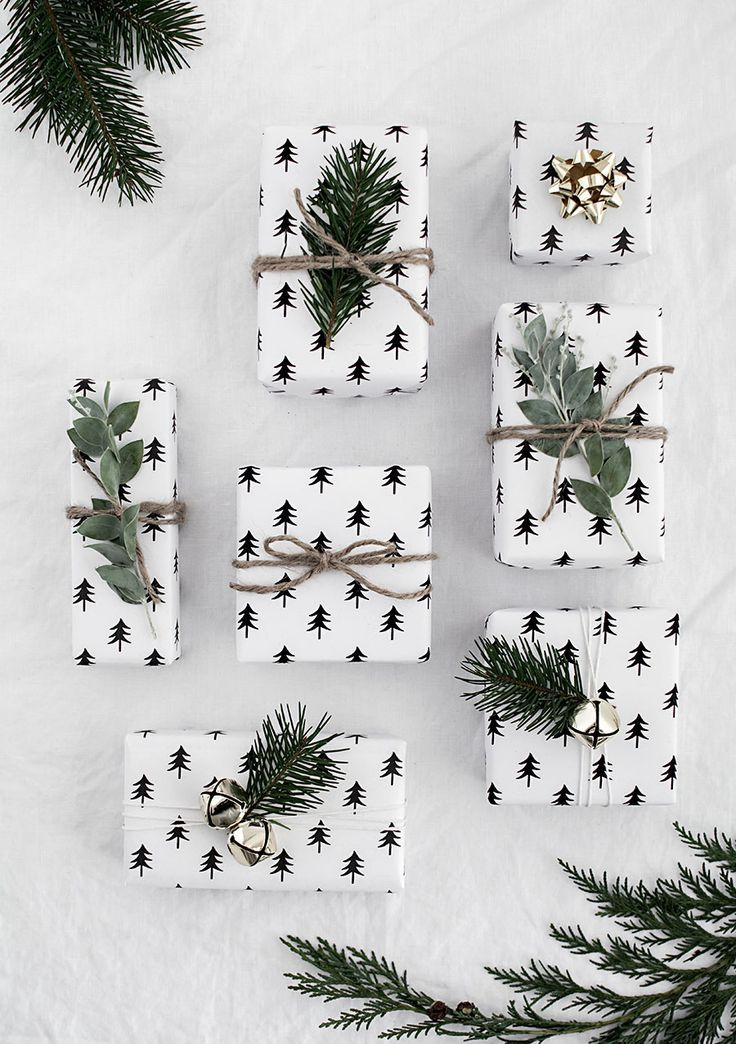 Printable Christmas gift wrap.