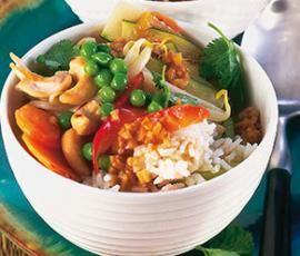 Rezept Chinesische Gemüse-Reis-Garnelenpfanne, ruck zuck von Saskia71 - Rezept der Kategorie Hauptgerichte mit Fisch & Meeresfrüchten