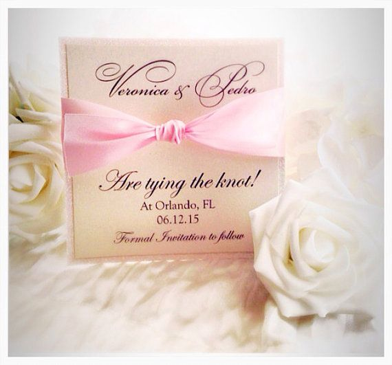 *To see all of our listings visit us at http://www.etsy.com/shop/VPElegance  ‡ How to order:  The price listed is for one save the date card. Prior