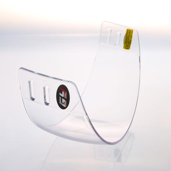 Hot sale! Bahan PC batal ice hockey visor GY-V300/wajah perisai luar anti gores dan anti-kabut dalam dengan CE