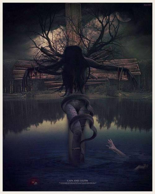 Cain And Lilith #llith #cain #redsea #lucifer Cain And