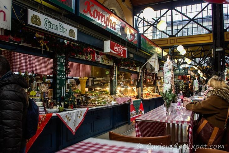 Budapest Great Market Hall Central Food Market - www.CuriousCatExpat.com #travel #budapest