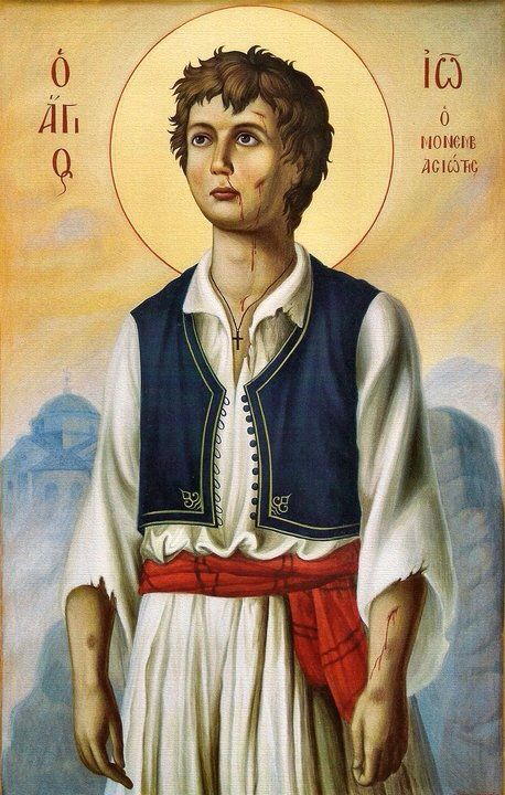 Among the Saints celebrated today (October 21st) is the Neomartyr John, from the town of Monemvasia in the south-east Peloponnese in Greece, a 15 year old Martyr. Divine offspring of Movemvasia, which grew, bore fruit, O John of the grace of the...