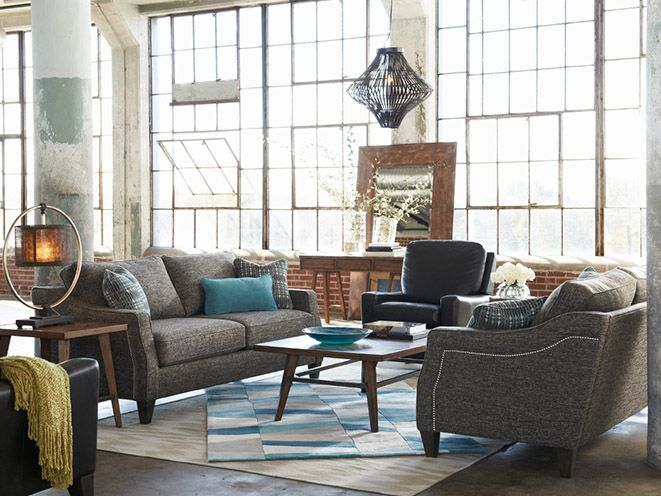 LaZboy's new collection !!!! Meet the - Delaney - from the Urban Attitudes collection | La-Z-Boy #LaZboy #La-Z-Boy