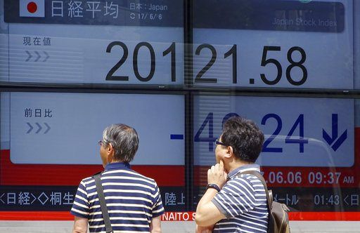 TOKYO/June 6, 2017 (AP)(STL.News) Stock Mostly Lower — Global stocks were mostly lower Tuesday, following a drop on Wall Street, as investors looked toward British elections later in the week.    KEEPING SCORE: France's CAC 40 lost 0.4 percent in e...