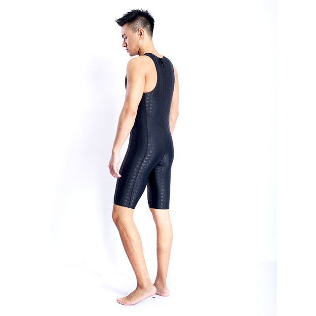 HXBY One Piece Long Sleeve Full Body SwimSuit Female Quick Drying Competition Large Size Body Bathing Suit Windsurfing Clothes