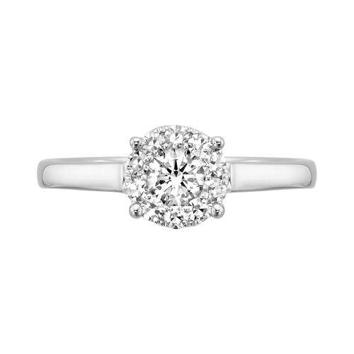 Popular Fred Meyer Jewelers ct tw Destiny Diamond Engagement Ring