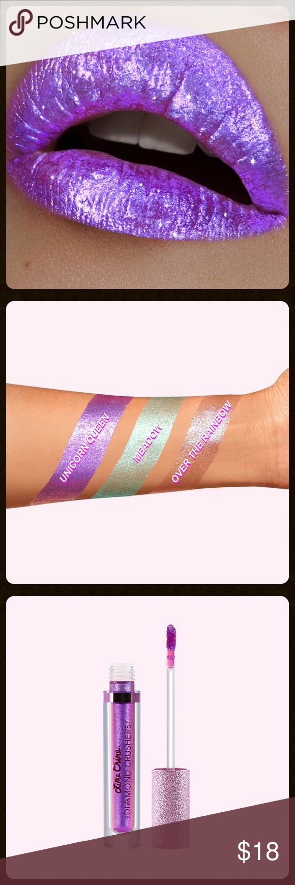 Lime Crime Diamond Crushers in Unicorn Queen BRAND NEW• OFFERS WELCOME • 100% AUTHENTIC •  Lime Crime Diamond Crushers Lip Topper in Unicorn Queen.  Iridescent Lip Topper that gets you LIT. Wanna sparkle like a fairy on acid? Get the effect of *crushed diamonds* on your lips, cheeks, and anywhere else on your body with a swipe of a wand! Can be worn by itself or over matte lipstick without making it run. And it smells like strawberries!  ✨Bundle for deAl✨ Lime Crime Makeup Lipstick