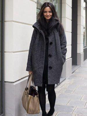 Stylowe damskie płaszcze na zimę i wiosnę 2015: zdjęcia modeli i innowacyjnych pomysłów
