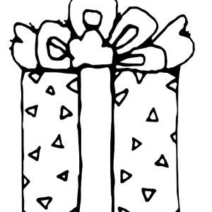 Christmas Presents Beautifully Wrapped Coloring Pages