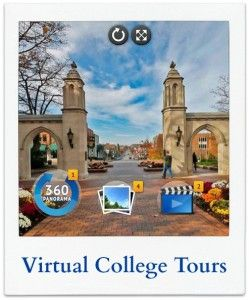 Visit Colleges for Free: Learn how to jump start your college search with online virtual college tours.
