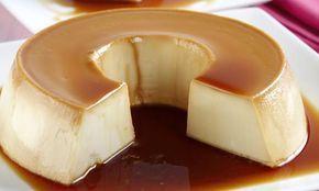 Pudim de Leite Ninho é bem suave. Não vai leite condensado, o que torna o sabor mais leve. INGREDIENTES: 10 colheres de leite em pó 8 colheres de açúcar 3