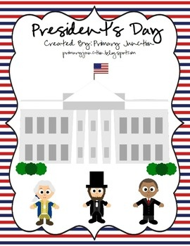 Have a blast learning all about Presidents and the United States of America with this President's Day Unit!  This 174 page unit is packed full of r...