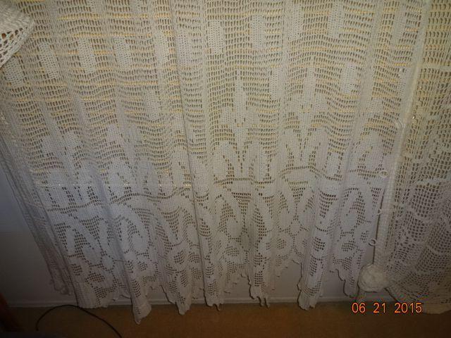 Crocheted Curtain #1