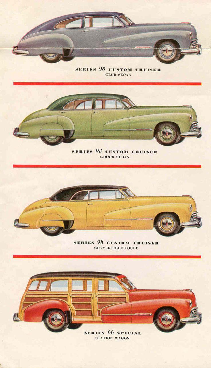 487 best oldsmobile images on pinterest vintage cars for 1947 oldsmobile 4 door sedan