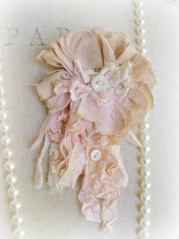 Blush Beauty Petite Tattered Rose